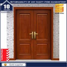 Teak Wood Double Doors Design