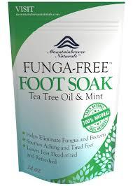 amazon tea amazon com tea tree oil foot soak with epsom salt antifungal