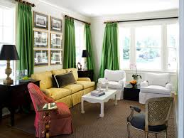 Emerald Green Curtain Panels by Jewel Tone Interior Decorating