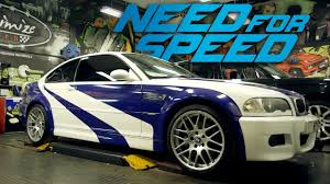 need for speed bmw need for speed bmw m3 build driverless car with willian