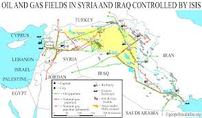 Map Of Iraq And Syria by Iraq Oilfields And Facilities Map Map Of Iraqi Oil Fields