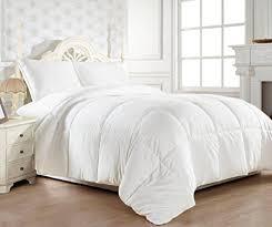 All Seasons Duvets Amazon Com Twin Twin Xl Comforter Duvet Insert White Cozy