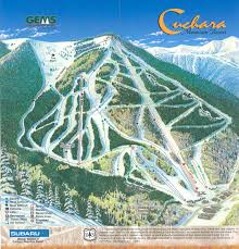 Keystone Colorado Map by Colorado Ski Maps
