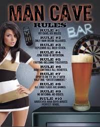 Man Cave Meme - man cave rules sleepoverz
