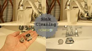 sink maintenance faucet aerator and drain cleaning youtube
