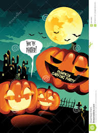 free halloween vector background halloween carving party background stock vector image 59474861