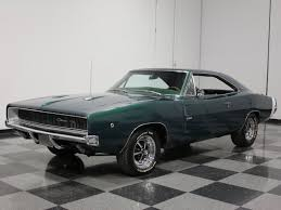 1968 dodge charger green green 1968 dodge charger for sale mcg marketplace