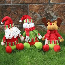 online get cheap plush snowman decorations aliexpress com