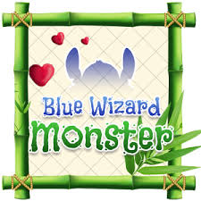 blue wizard monster theme emoji keyboard android apps on google play