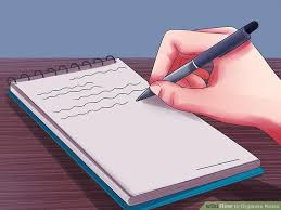 how to organize notes with pictures wikihow