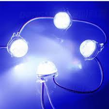 12v Led Light String by Lpd6803 Pixels 12v Rgb Led Point Light String Modules 5050 Smd