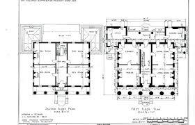 antebellum floor plans historic southern home plans old southern plantation home plans