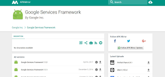 services framework apk for android os 2017 - Apk Services Framework