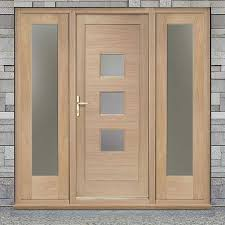 Exterior Door And Frame Sets Enchanting Wooden External Door Frames Pictures Exterior Ideas
