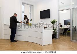 Front Desk Executive Means Reception Desk Stock Images Royalty Free Images U0026 Vectors