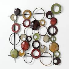 Excellent Ideas Circle Wall Decor Outstanding With 3D Decals Home