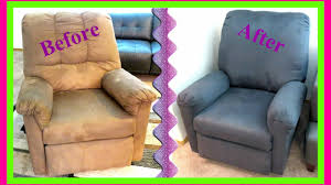 how to slipcover a chair diy slipcover for a recliner chair