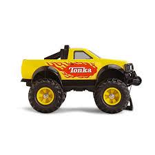 tonka mighty motorized fire truck tonka 4 x 4 pick up truck funrise toys