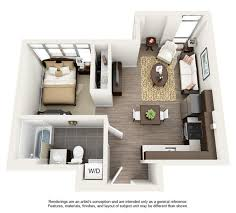 Studio Apartment Setup Ideas Homey Studio Apartment Design Layouts Best 25 Layout Ideas On