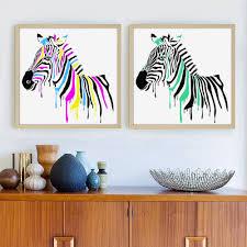 online get cheap zebra print wall murals aliexpress com alibaba