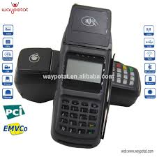 verifone vx520 handheld linux pos system 1d barcode printer