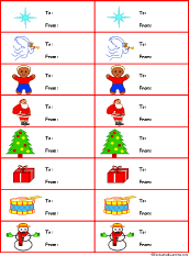 printable gingerbread man gift tags christmas crafts for kids enchantedlearning com