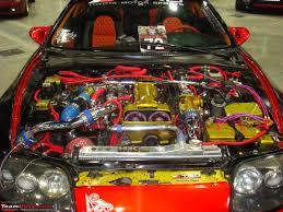 custom supra engine abu dhabi barbican turbo auto fest 2008 w dc modded cayenne