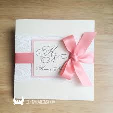 coral wedding invitations lace wedding invitations free shipping