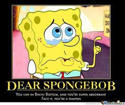 Funny Spongebob Memes - dear spongebob by ben meme center