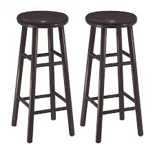 30 Inch Bar Stool Winsome Wood 30 Inch Swivel Bar Stools Espresso