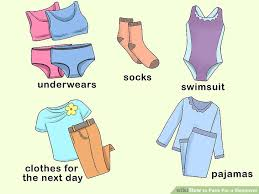 Bathroom Necessities Checklist How To Pack For A Sleepover With Checklist Wikihow