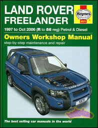 freelander shop manual service repair land rover haynes chilton book