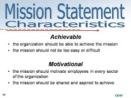 mission and vision statements examples best template collection