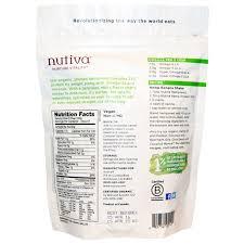 nutiva hempseed organic superfood raw shelled 8 oz 227 g