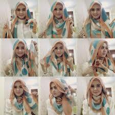 tutorial hijab pashmina kaos yang simple cara lengkap berhijab yang cantik dan modern