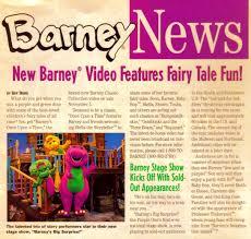 barney news winter 1997 by bestbarneyfan on deviantart