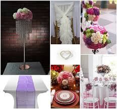 creative table styling using wedding decorations for hire