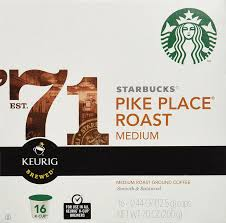 starbucks pike place torrefaction roast k cup for