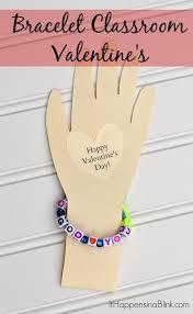 bracelet craft hand images Bracelet classroom valentines jpg