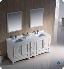 Bathroom Vanity Two Sinks 72