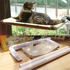pet cat hammock sunny seat bed hanging sunshine suction washable