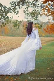 discount vintage black gothic wedding dresses a line medieval off