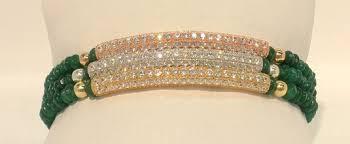 emerald bracelet white gold images Cheap jade and gold bracelet find jade and gold bracelet deals on jpg