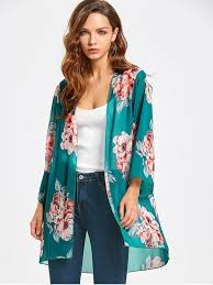 floral chiffon blouse floral chiffon open front blouse floral blouses s zaful