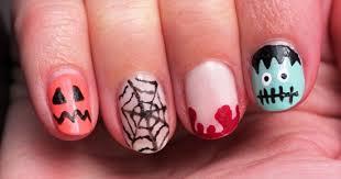 halloween pumpkin nail art designs nail design ideaz