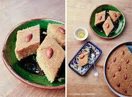 cuisiner des gardons comme un gardon namoura coco vegane appelé aussi basboussa la