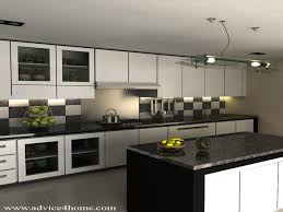 pretentious idea modular kitchen designs black and white kitchen
