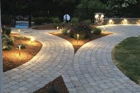 Exterior Led Landscape Lighting by Nh Stone Work And Landscape Outdoor Lighting Nowak Landscape