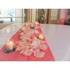cheap coral table runners products bridal boomerang