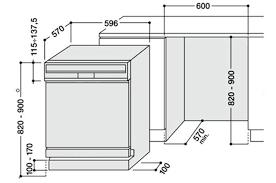 cuisine lave vaisselle en hauteur meuble pour lave vaisselle integrable meuble pour lave vaisselle